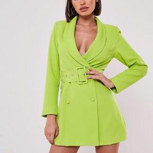 Missguided US 4 blazer dress